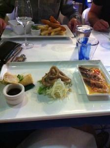 Dinner at 2Fish