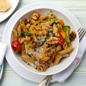 image from Healthy Aperture, courtesy of http://organicallythin.me/2014/01/16/pasta-veggies-chick-peas-walnuts/