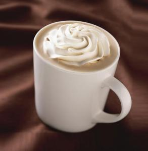 White Chocolate Mocha from Starbucks... up to 2,500 kilojoules for the largest size.