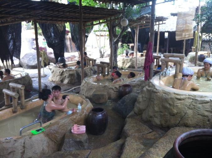 Mud baths in Nha trang