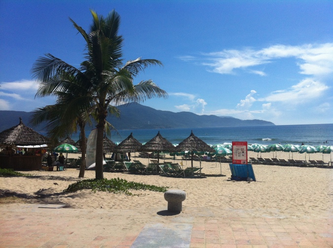 More beautiful beaches - this ones in Danang