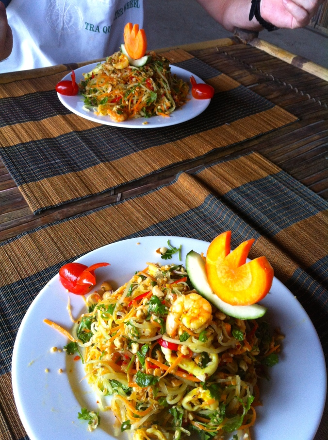 The best papaya salad